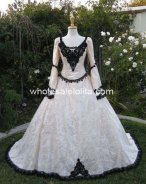 Gothic Fairy Medieval or Renaissance Style Fantasy Set with Cape and Overskirts Custom