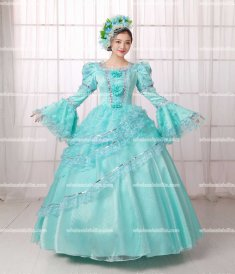 Rococo Style Marie Antoinette Inspired Prom Dress Wedding Quinceanera Ball Gown /Southern Belle Weddings