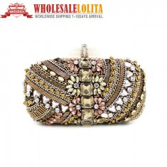 Dinner Bag Pure Manual Nail Bead Handbag