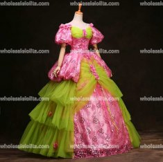 Marie Antoinette Inspired Prom Dress Princess Ball Gown
