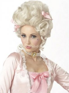 Halloween Fancy Dress Party Deluxe Marie Antoinette Cosplay Wig