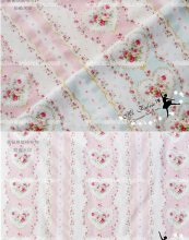 Sweetheart Floral Print Cotton Fabric