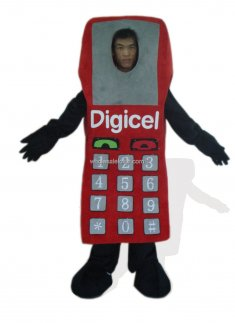 Digital Telephone Plush Monster And Fantasy Costume