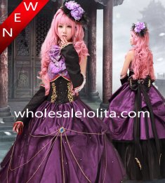 Hot Sale Vocaloid Luka Purple Cosplay