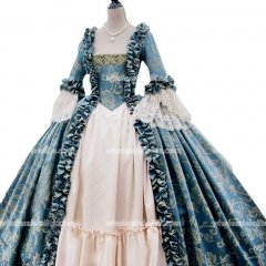 18th Century Marie Antoinette Victorian Dress Prom/Wedding Dress Ball Gown