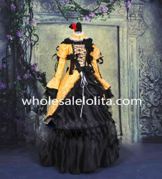 Top Sale Vocaloid Luka Yellow and Black Cosplay