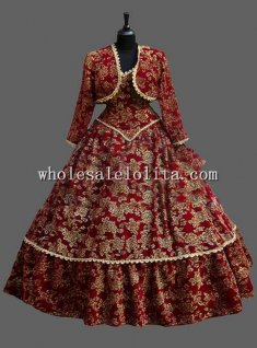 Custom Made Venice Carnival Clothing Cosplay Costume