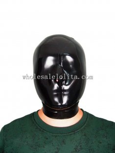 100% Handmade Latex Rubber Hood Mask Only Open Nose Gummi Latex