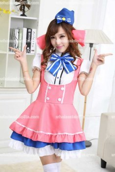 Cute Candy Clothing Cosplay Maid Costume