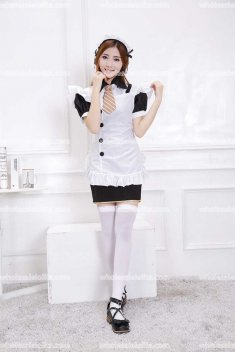 Japan SR Lolita Cosplay Maid Put Costumes