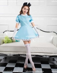 Alice Lolita Servant Girl Cosplay Dress