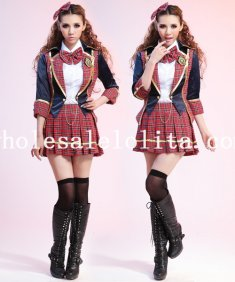 Halloween Adult Exclusive School Girl Halloween Costume Dress