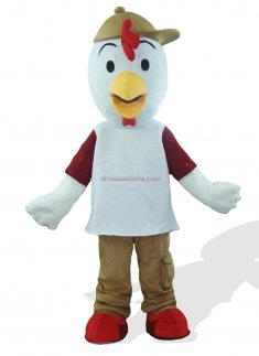 Big Head Chicken Costume for Adult