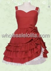 Red Sweet Heart Sweet Lolita Dress
