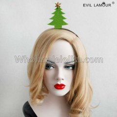 Lovely Christmas Tree Headband Masquerade Accessories
