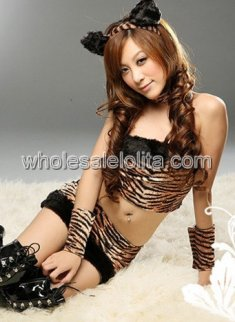 Hot Sexy Leopard Cat Costume