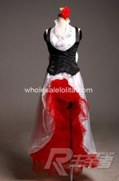 Anime High-end VOCALOID Meiko Cosplay Costume