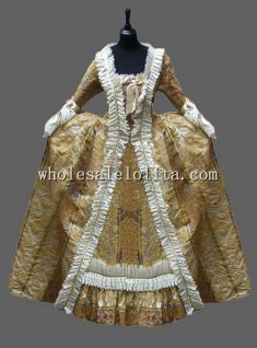 Luxury Venice Carnival Costume Perfomance Clothing for Women