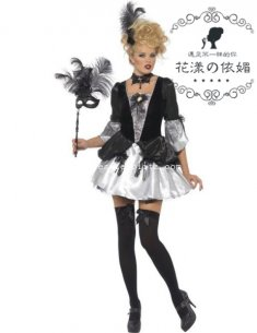 2014 New Adult Womens Vampire Halloween Costume