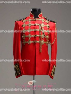 High-end Customized Mens Palace Suit General Blazer Suits Medieval Mens Period Costume