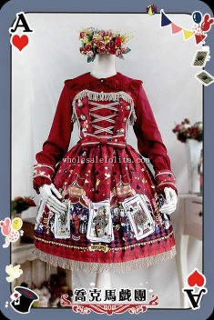 Infanta JOCK CIRCUS Printing Cotton JSK Sweet Lolita Dress