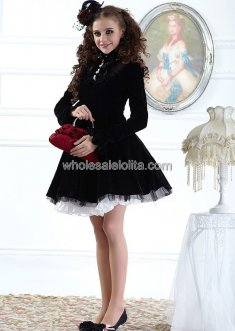Hot Sale Palace Style High Collar Classic Lolita Coat