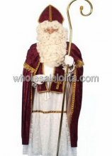 Hot sale Traditional Santa Pop Costume