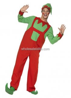 Christmas Workshop Elf Costume for Adults