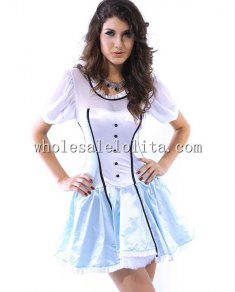 Sweet Maid Satin Costume