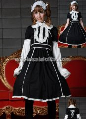 Lovely Short Sleeves Cotton Sweet Lolita Dress