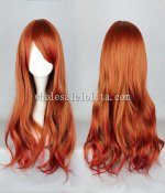 Japanese Harajuku Fashion Wigs Temperament Long Curly Hair