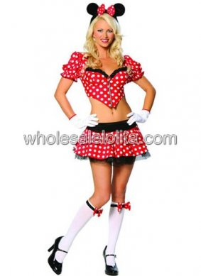 Special Mickey Costume with Mini Skirt