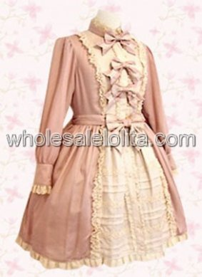 Sweet Princess Low Classic Lolita Dress with Bow