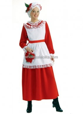Mrs Claus Adult Womens Costume