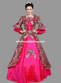 Historical Marie Antoinette Inspired Ball Gown Stage Costume Many Colors M4