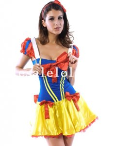 Beautiful Snow White Costume