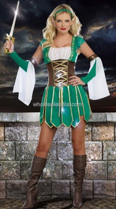 Ancient Greece Women Warrior Halloween Costume
