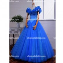 Royal Blue Cinderella Dress Party Dresses Long Ball Gown