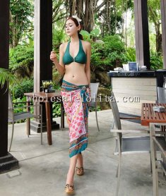 2014 Summer Bohemia Suncare Beach Long Skirt