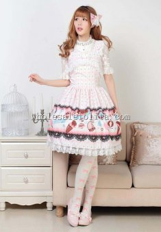 Pink Gelato Lolita Dress for Lolita Dress Up