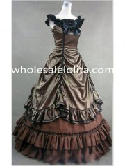 Hot Sale Southern Belle Civil War Ball Gown Period Dress Reenactment Clothing