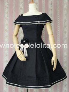 Royal Cute Lolita Dress Sailor Style Dress