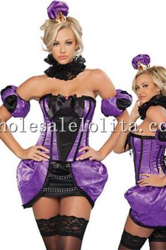 Royal Purple Queen Dress Halloween Costume