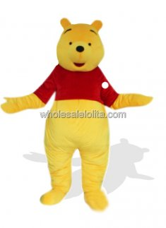 Winnie The Pooh Costume for Adult