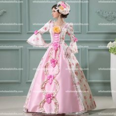 Marie Antoinette Inspired Prom Dress Wedding Party Ball Gown