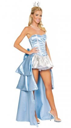 Strapless Sweetheart Princess Fancy Party Dress