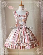Magic Tea Party Strawberry Jam Thick Cotton JSK Lolita