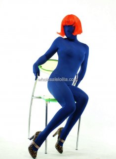 Dark Navy Full Body Model Zentai Suits