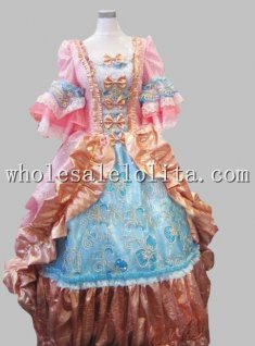 17 18th Century Baroque Rococo Pink Marie Antoinette Era Court Prom Dress