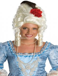 Halloween Fancy Dress Party Long Marie Antoinette Cosplay Wig
